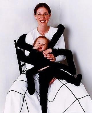 Disfraz de bebe araña