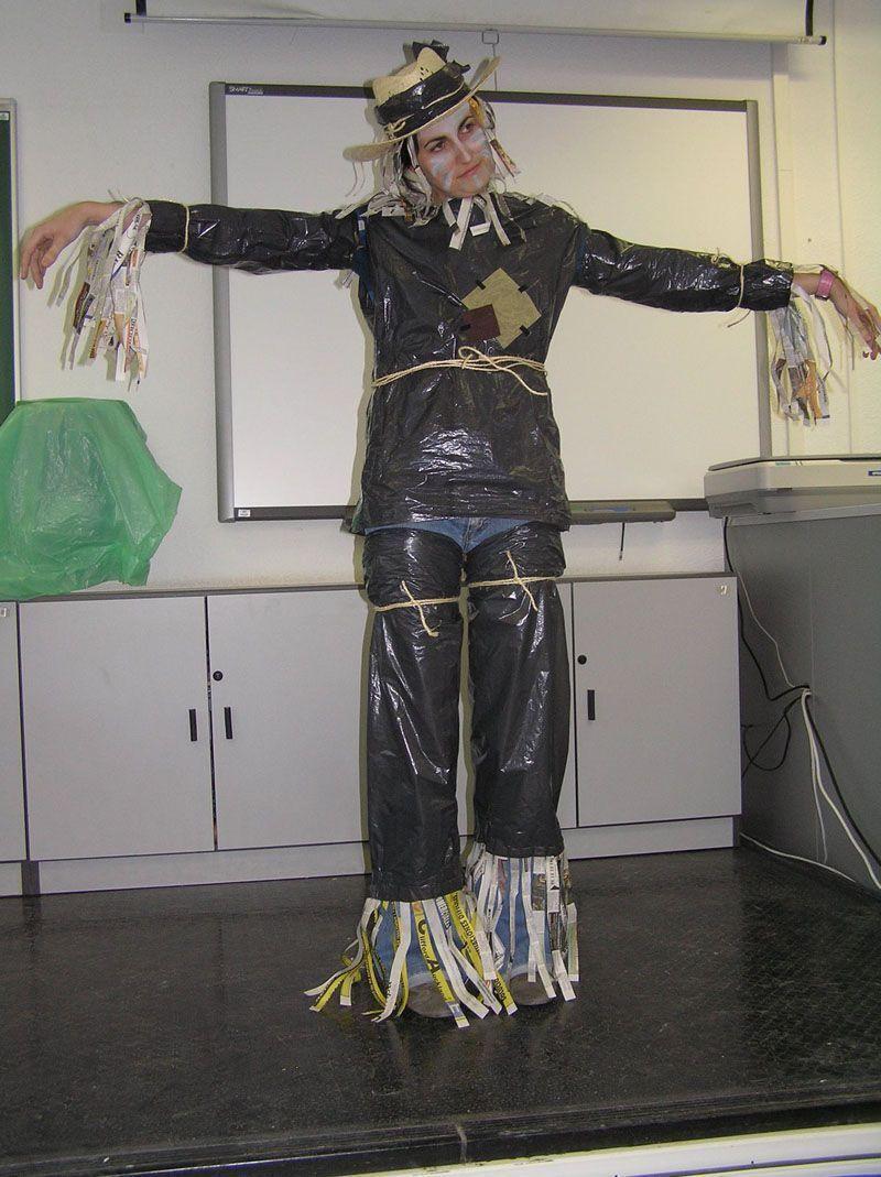 Disfraz de espantapajaros