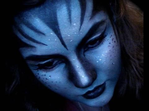 Disfraz de Na'vi de Avatar humanizado
