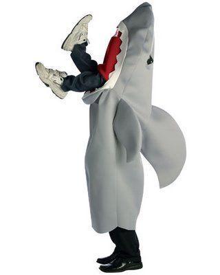 disfraz tiburon