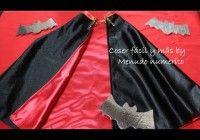 Cómo hacer una capa de vampiro para disfraz de Carnaval