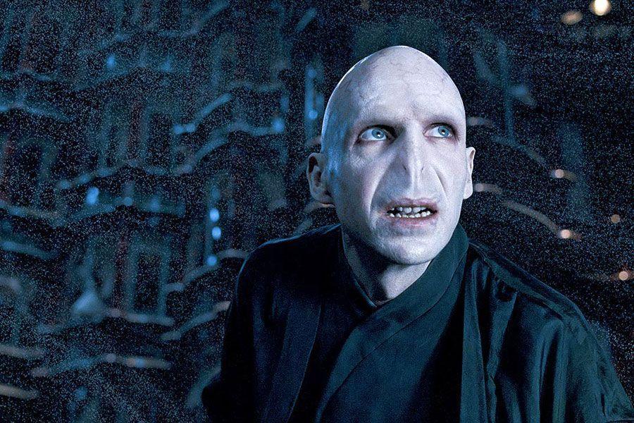 Disfraz de Lord Voldemort, el malvado mago de Harry Potter