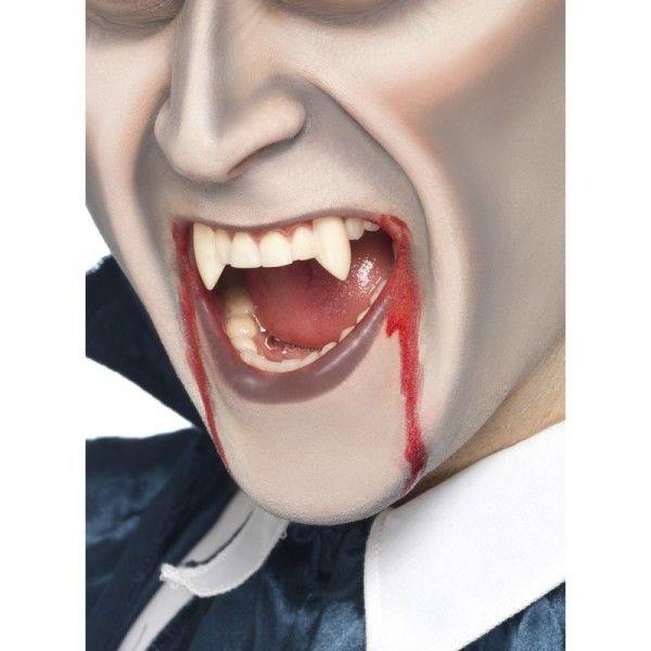 Como hacer colmillos de vampiro