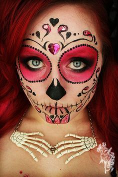 maquillajecalaveramexicana