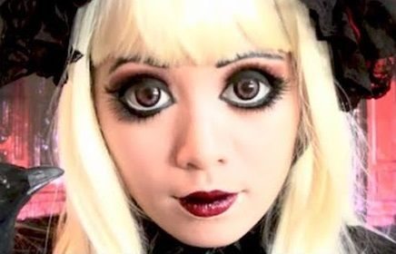 Disfraz de muñeca gótica