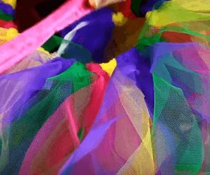 Como hacer disfraz con falda de tul sin coser