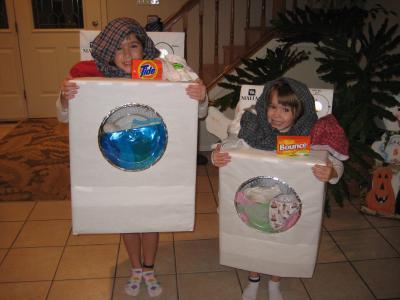 Disfraz original de lavadora