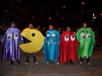 Disfraz Pac Man en grupo
