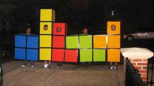 Disfraz tetris para combinar con amigos