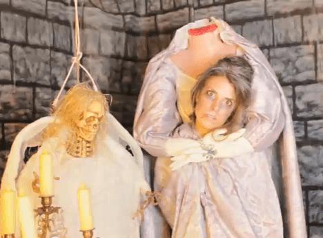 Disfraz de decapitada para Halloween