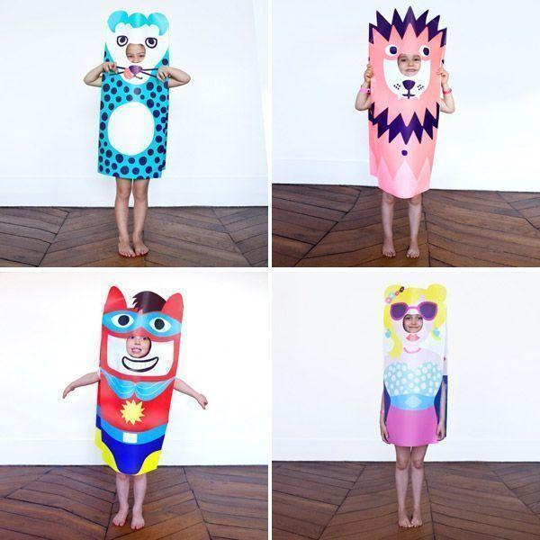 Disfraces originales para niños simpaticos