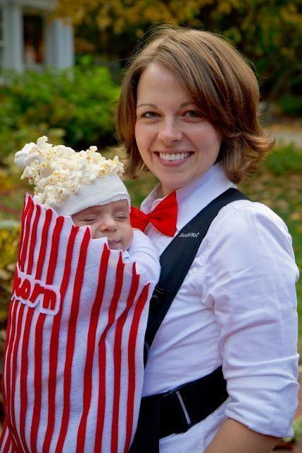 Carnaval para madre e hijo