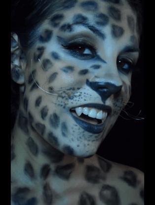 Disfraz de mujer leopardo