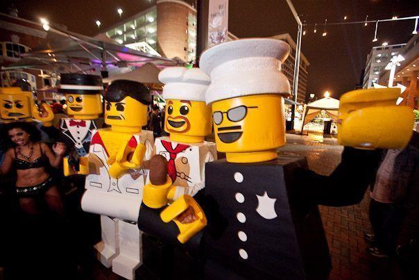 Como hacer disfraz de LEGO
