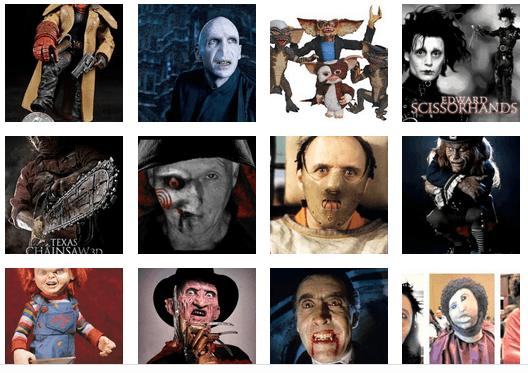 Disfraces de personajes de cine para Halloween