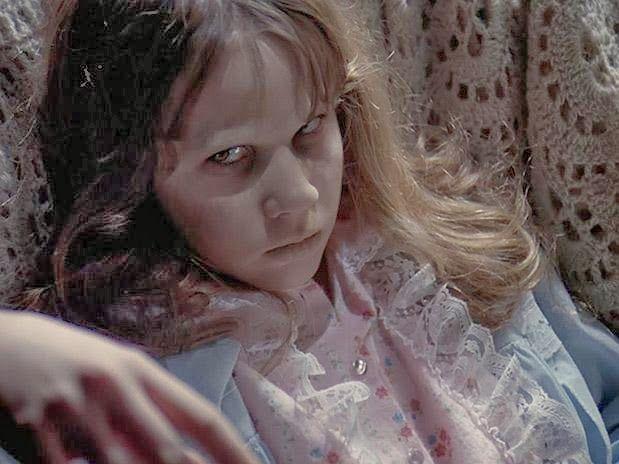 Disfraz de la niña de El exorcista