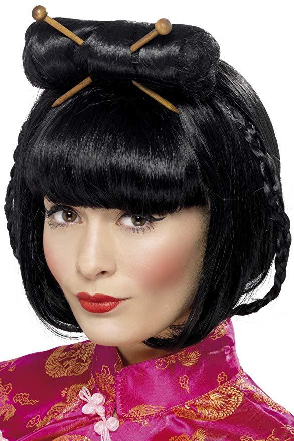 Peluca de geishas